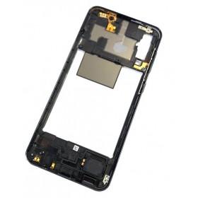 Chasis intermedio Samsung Galaxy A50 A505 Negro
