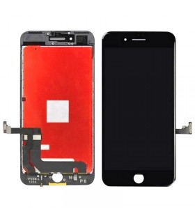 Ecrã completa (LCD/display + digitalizador/táctil) para Apple iPhone 7 Plus de 5. Preta