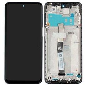 Pantalla completa original con marco Xiaomi Redmi Note 9 Pro Blanco Glaciar