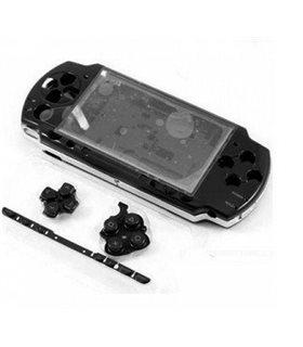 PSP 3000 Carcasa Completa Negra