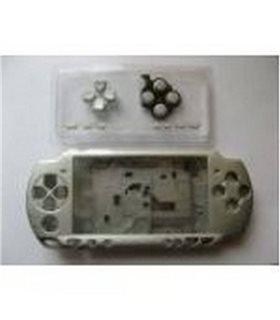 PSP 3000 CARCASA COMPLETA GRIS