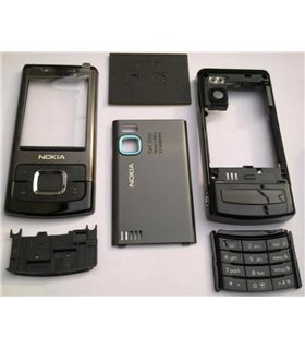 Carcasa Nokia 6500 slide Completa Negra