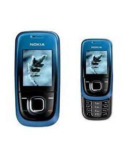 Carcasa Nokia 2680 Completa Azul con Negro