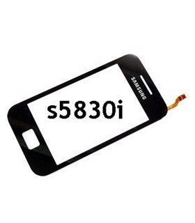 Pantalla táctil (Digitalizador) de Samsung S5839i, S5830i Galaxy ACE. Negro