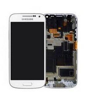 pantalla completa (TACTIL + LCD) SAMSUNG GALAXY S4 mini, i9190 I9195 BLANCA