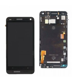 Pantalla Completa con marco HTC ONE M7 NEGRA