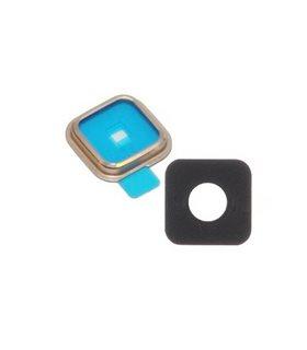 lente de camara trasera Samsung Galaxy S5 G900F dorado