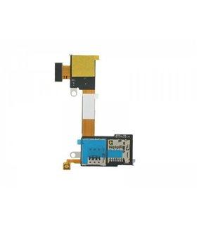 Flex Lector Sim y Tarjeta Micro SD Sony Xperia M2