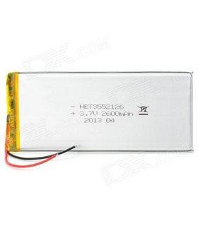 Bateria universal para tablet 3.7V 5000mAh