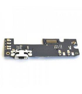 conector de carga -sub PCB + USB + Micrófono + Botonera ORIGINAL BQ M5.5 nuevo