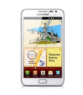 Reparaçao Ecrã Original Samsung NOTE1 N7000 BLANCA