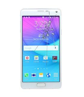 Reparacion pantalla Original Samsung NOTE4 N910F BLANCA