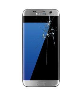 Reparacion pantalla original completa Samsung S7 edge G935 NEGRA