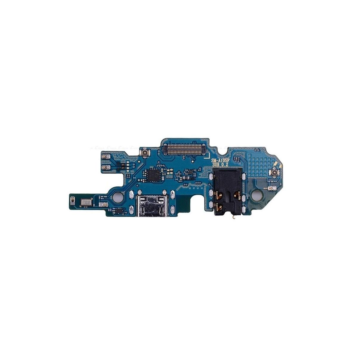 Modulo conector de carga y micro Samsung Galaxy A10 A105