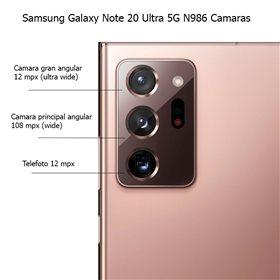Reparacion Camara trasera telefoto original Samsung Galaxy Note 20 Ultra 5G N986