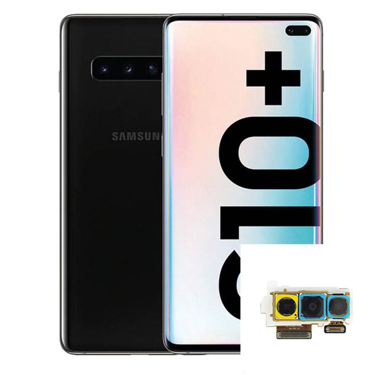 Reparacion Camara trasera triple Samsung Galaxy S10 Plus G975