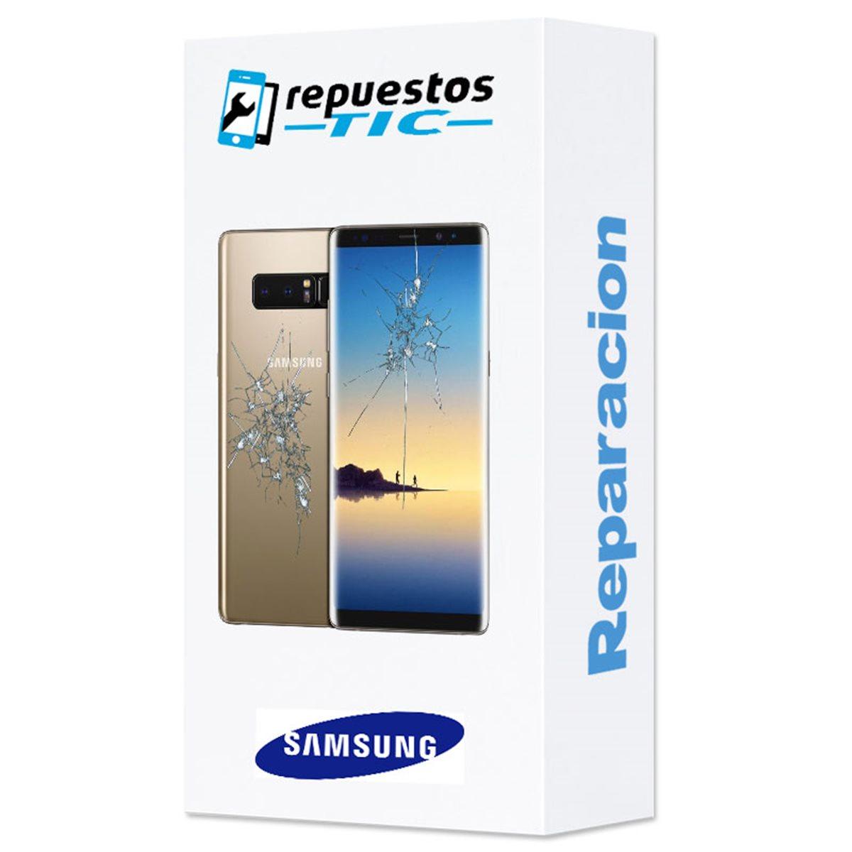 Reparacion pantalla (solo cristal) + tapa trasera Samsung Galaxy Note 8 N950F