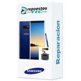 Reparacion/ cambio Lector huellas digital Samsung Galaxy Note 8 N950F