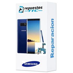 Reparacion/ cambio Conector de carga Samsung Galaxy Note 8 N950F