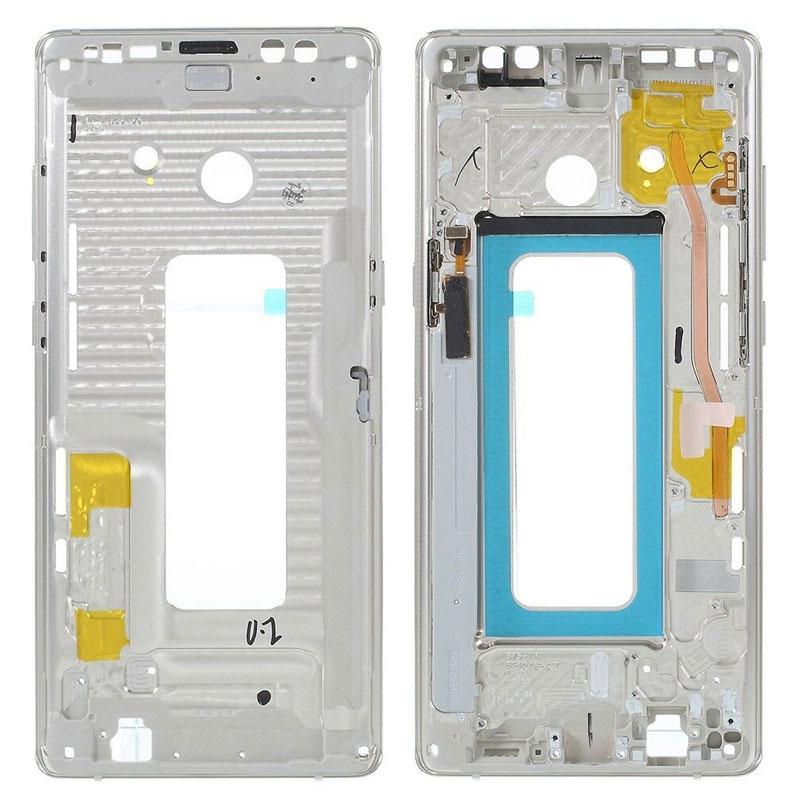 Chasis intermedio marco central Samsung Galaxy Note 8 N950F Oro