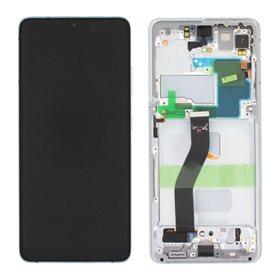 Pantalla completa original Samsung Galaxy S21 Ultra 5g G998B Plata