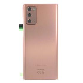 Tapa trasera original Samsung Galaxy Note 20 5G N981 Bronze