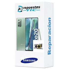 Reparacion/ cambio Camara trasera principal y telephoto original Samsung Galaxy Note 20/ 20 5g N980 N981