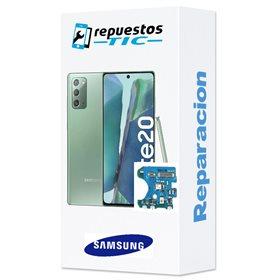 Reparacion/ cambio Microfono y antena original Samsung Galaxy Note 20/ 20 5G N980 N981