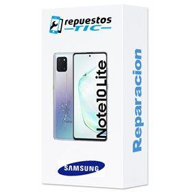 Reparacion/ cambio Tapa trasera original Samsung Galaxy Note 10 N970 Negro