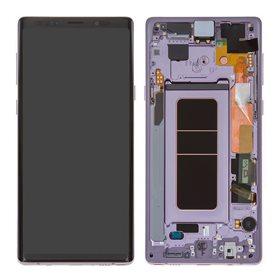 Pantalla completa original Samsung Galaxy Note 9 N960 Morado
