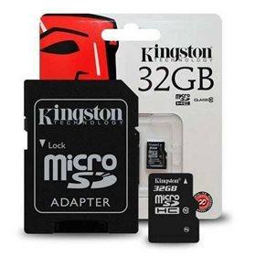 Tarjeta de memoria Micro Sd Kingston Original de 32GB.
