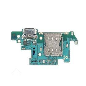 Modulo conector de carga y micro original Samsung Galaxy A72 A725 / 5G A726B Blanco