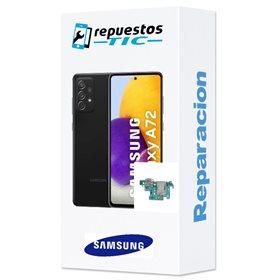 Reparacion/ cambio Modulo conector de carga y micro original Samsung Galaxy A72 A725 / 5G A726B