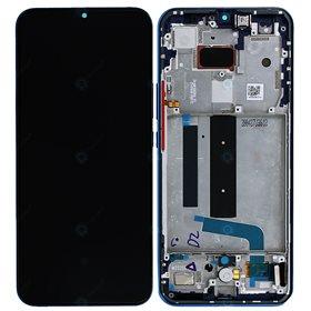 Pantalla completa original con marco Xiaomi Mi 10 Lite 5G Azul Boreal