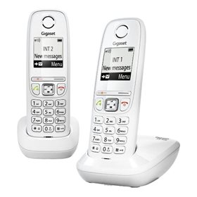 Dect Gigaset AS405 Duo Blanco