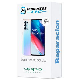 Reparacion/ cambio Altavoz auricular Oppo Find X3 5G Neo