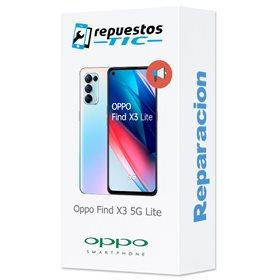Reparacion/ cambio Altavoz buzzer Oppo Find X3 5G Neo