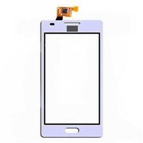 Tactil con marco LG Optimus L5 E610 Blanco