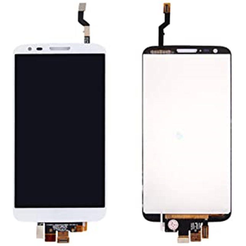 Ecrã lcd + tactil sin marco LG Optimus G2 D802 E940 branca