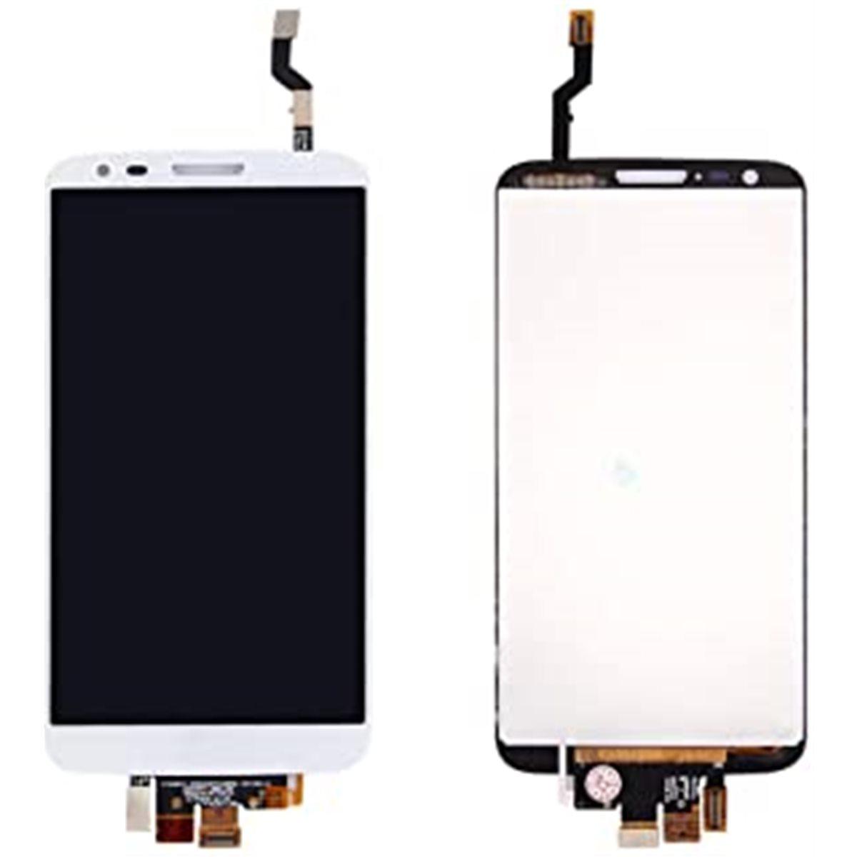Pantalla lcd + tactil sin marco LG Optimus G2 D802 E940 blanca