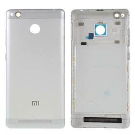 Tapa trasera Xiaomi Redmi 3s Plata
