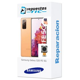 Reparacion/ cambio Camara trasera Samsung Galaxy S20 FE 5G G781