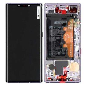 Pantalla completa original con marco Huawei Mate 30 Pro Plata
