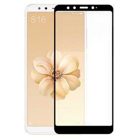 Protector pantalla cristal templado  Xiaomi Mi A2/ Mi 6X Negro