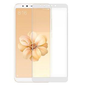 Protector pantalla cristal templado  Xiaomi Mi A2/ Mi 6X Blanco