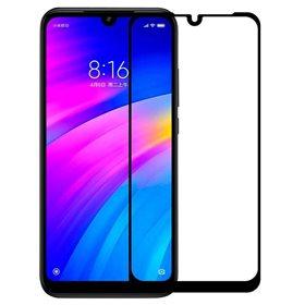 Protector pantalla cristal templado  Xiaomi Redmi Note 7/ 7s/ Note 7 pro Negro