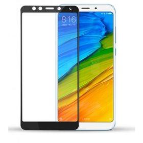 Protector pantalla cristal templado  Xiaomi Redmi 5 Plus Negro