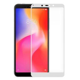 Protector pantalla cristal templado  Xiaomi Redmi 5 Plus Blanco