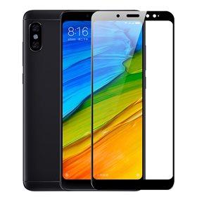 Protector pantalla cristal templado Xiaomi Redmi Note 5 Negro