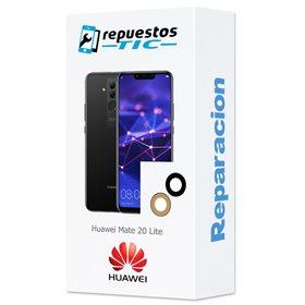 Reparacion Lente Camara trasera Huawei Mate 20 lite